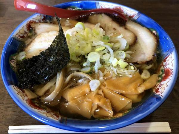 チャーシューメン(あっさり醤油) 780円