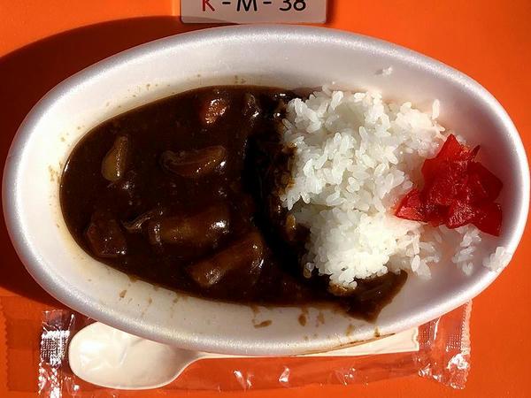 福島野菜の代表カレー 500円