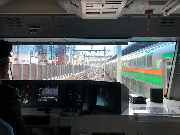 大宮駅を発車