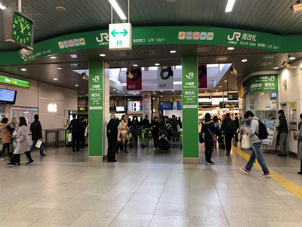 大船駅改札口付近