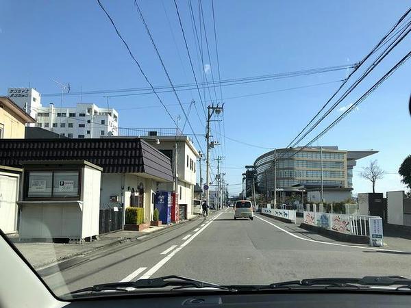 福島競馬場付近