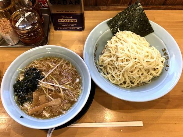 ネギつけ麺(並盛) 840円