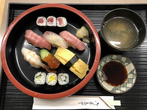 上寿司 1150円