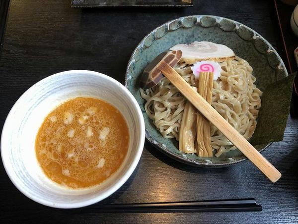 海老つけ麺(濃厚) 900円
