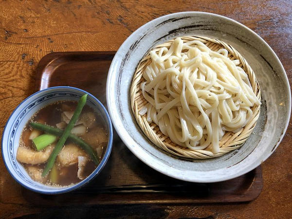 肉汁うどん(大盛) 1020円