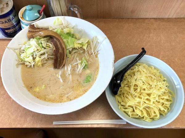 肉ミルクつけ麺 1100円