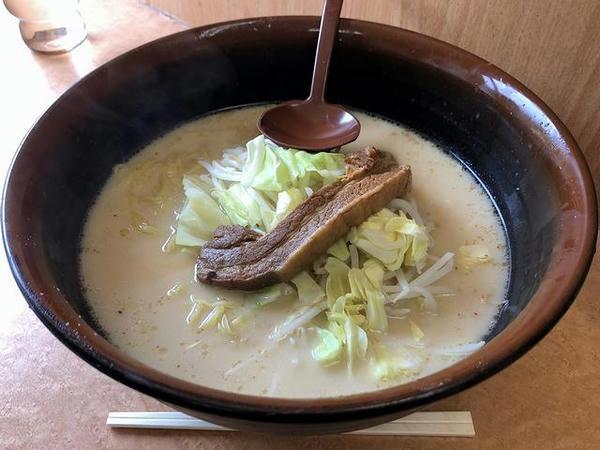 肉ミルクラーメン(野菜少なめ) 1100円
