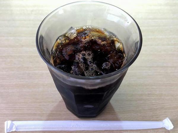 セットのドリンク(アイスコーヒー)
