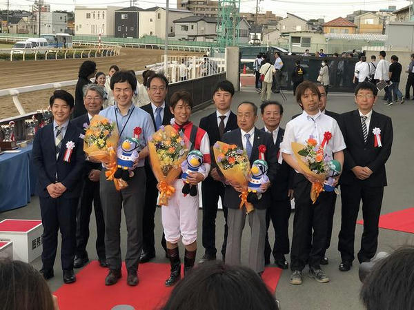 表彰式後の記念撮影