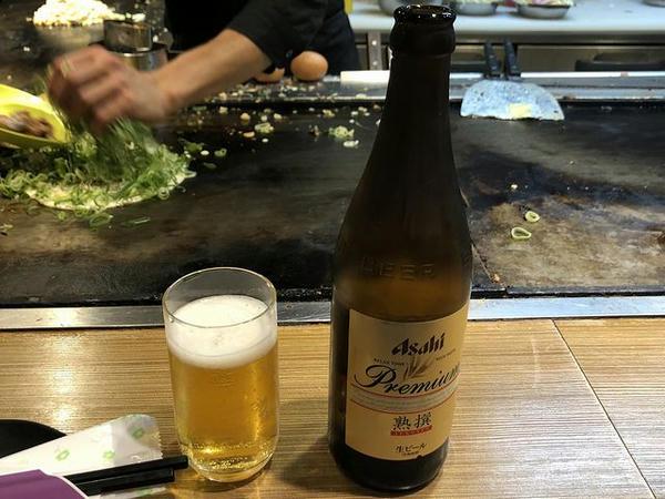 瓶ビール(中) 630円