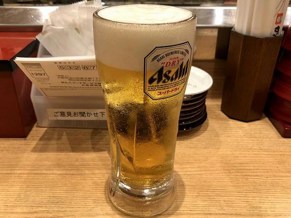 生ビール(中) 480円+税