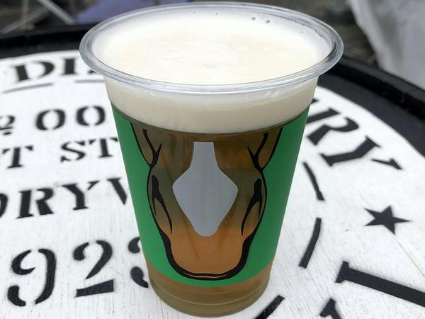阪神競馬場オリジナルビール ウマ勝った! 700円
