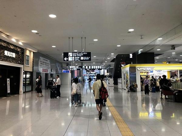 関西空港第1ターミナル内