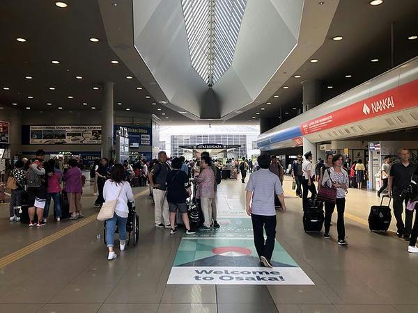 関西空港駅内