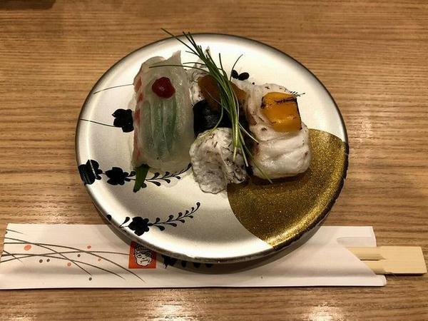 いただいた回転寿司の一部