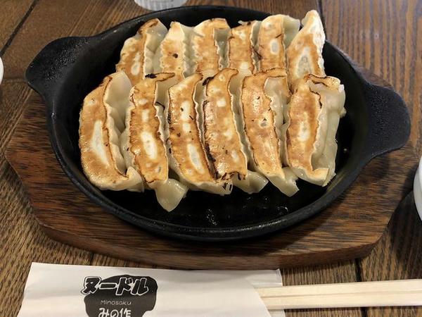 鉄焼き餃子2人前(12個) 610円