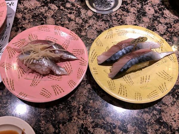 真いわし 248円(左) と 自家製〆さば 194円(右)