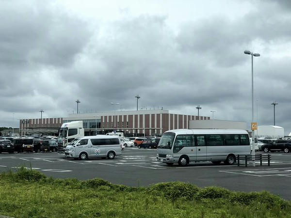 茨城空港を後に