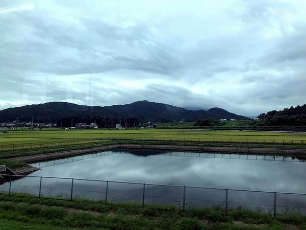 岩瀬駅-大和駅間にて