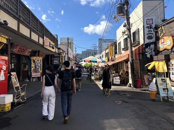 函館観光朝市