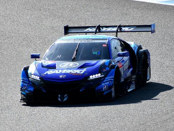 #1 RAYBRIG NSX-GT(山本尚貴選手)