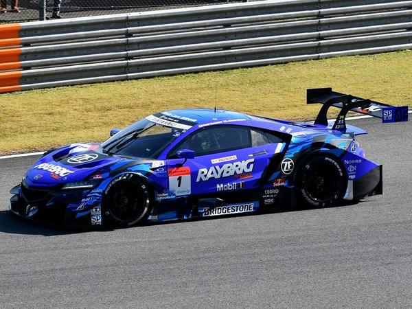#1 RAYBRIG NSX-GT(ジェンソン・バトン選手)