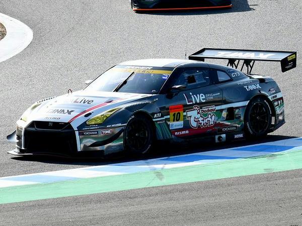 #10 GAINER TANAX triple a GT-R(石川京侍選手)