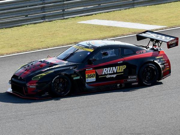 #360 RUNUP RIVAUX GT-R(柴田優作選手)