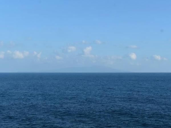 車窓から見えた大島