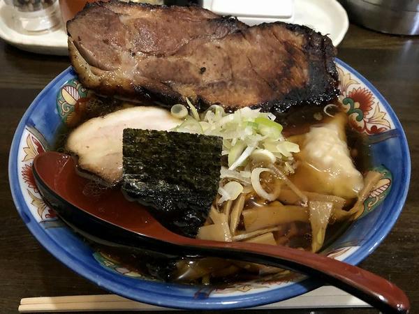 肩ロースチャーシューメン(あっさり醤油) 1000円