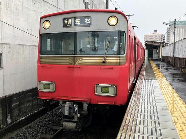 新羽島駅から乗車した名鉄電車