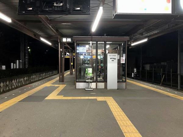 武庫川駅武庫川線ホーム