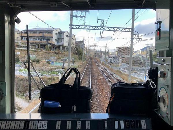 谷上駅-花山駅間