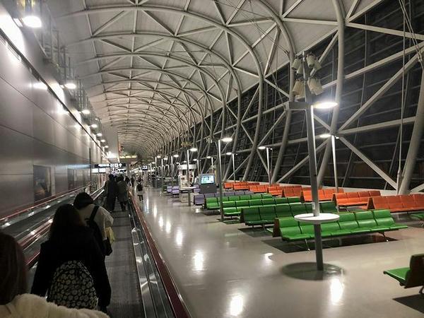 関西国際空港到着