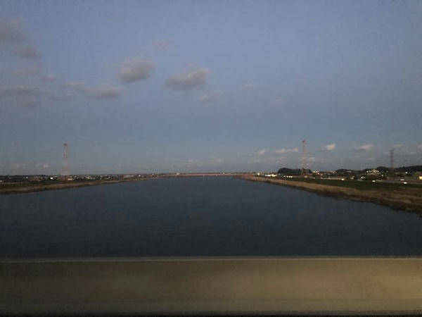 圏央道で利根川を渡る