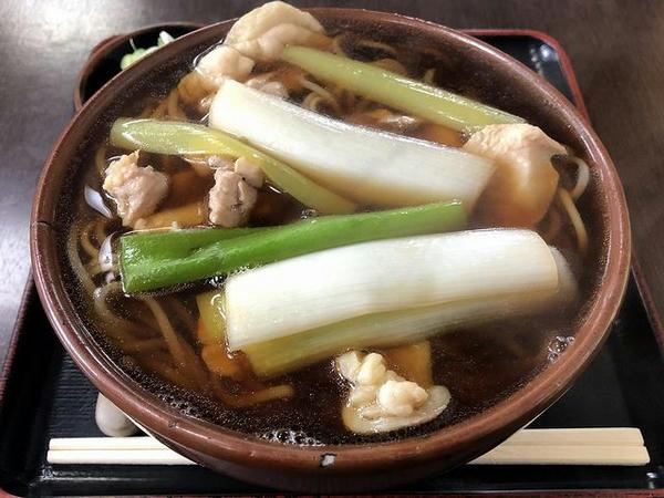 トリ肉南ばん(そば) 600円