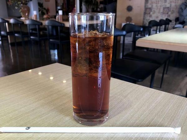 紅茶(アイス) 150円(ランチタイムサービス価格)