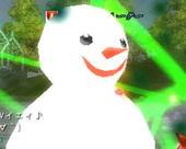 元気雪だるま