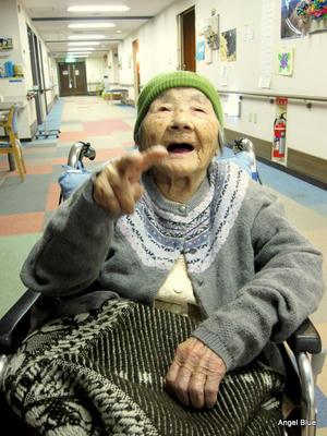お婆ちゃん 100歳