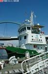 白龍船首付近
