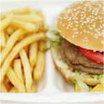 ジャンクフード(ハンバーガー、ポテト)