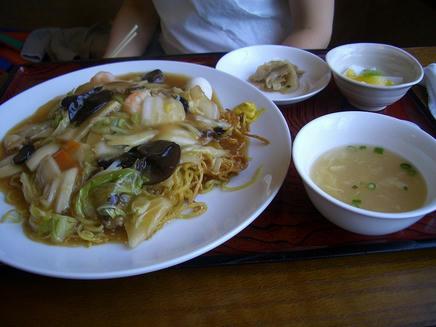 成龍飯店(あんかけ)