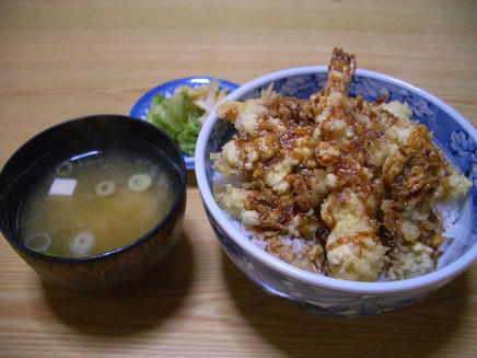 輝寿司(天丼)