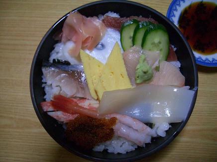 輝寿司(生ちらし)2