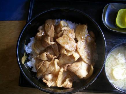 北の家(豚丼)2