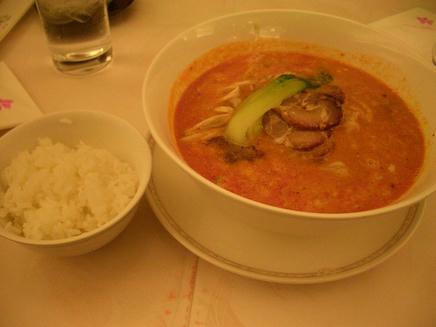 四川飯店(担々麺)