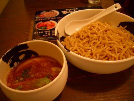 あらとん(味噌つけ麺)