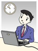 残業・サービス残業・深夜残業・時間外労働・みなし残業