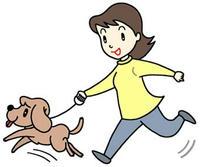 フリーイラスト 「愛犬・ペット・飼犬・ペットシッターサービス・ペット飼育」