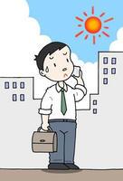 真夏・真夏日・猛暑・酷暑・日差し・直射日光